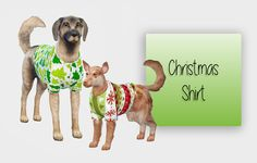Christmas Shirt For Your Dogs ♥ it is early i know 15 Swatches [Small Dog] [Big Dog]