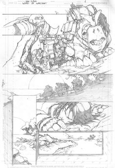 Warcraft comics1 pencils 1 by LudoLullabi.deviantart.com on @deviantART
