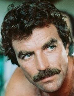 The Chevron Moustache 1970 Hairstyles, Slick Hairstyles, Popular Hairstyles, Black Girls Hairstyles, Down Hairstyles, Hairstyle Short, 70s Hair Men, Long Textured Hair, Short Dreads