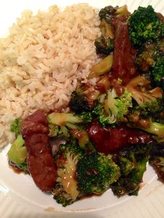 Beef and broccoli stir fry - Made only the sauce 9-5-'14 Simple, quick, and perfect brown sauce. CAR