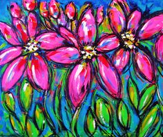 Spring VIII, acrylic on canvas, 24 x 18 in. #painting #art #spring