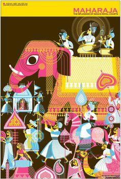 By Sanjay Patel, 2011, Asian Art Museum: Maharaja Splendor of India's Royal Courts, San Francisco.