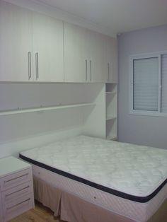O AMBIENTE IDEAL: Dormitório Planejado do apê: Parte II