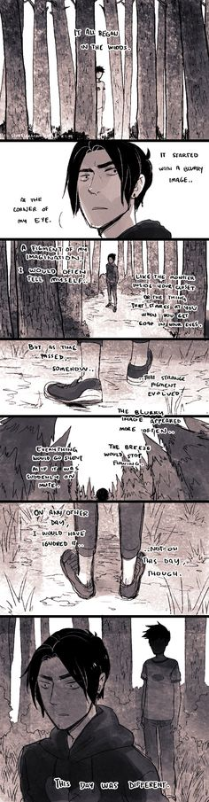 Day 1.0: The Boy in the Woods by demitasse-lover on DeviantArt  Gravity Falls&Danny Phantom Crossover