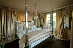 The Paris Hilton Sunset Blvd House master or mistress bedroom