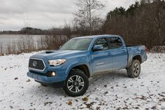 to the 2019 Toyota Tacoma Top What's New This Week on December 2018 - Here's what's new this week in the pickup truck world as reported by sister site .December 2018 - Here's what's new this week in the pickup truck world as reported by sister site . Toyota Tacoma Trd, Tacoma 4x4, Blue Tacoma, Tacoma Truck, Toyota Tundra, Best Pickup Truck, Classic Pickup Trucks, Chevy Pickup Trucks, Toyota Trucks
