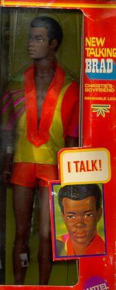 1970 New Talking Brad doll #1114