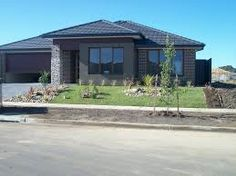 Photo of a brick house exterior from real Australian home House