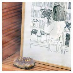 """227 mentions J'aime, 6 commentaires - monocotylédone (@monocotyledone.laboutique) sur Instagram: """"11 août. La jolie vitrine de brique. Cet atelier @seve__studio partagé est la plus belle décision…"""" Plus Belle, Le Jolie, Vintage World Maps, Studio, Etsy, Instagram, Art, Glass Display Case, Brick"""