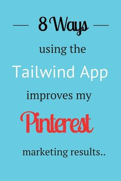 """From @YTravelBlog, Pinterest influencer with over 4 MILLION followers: """"Here's 8 reasons why I use the Tailwind App to super charge my Pinterest marketing efforts. I couldn't live with out this tool."""" Want to know how to schedule pins? The best time to pin? Read on!"""
