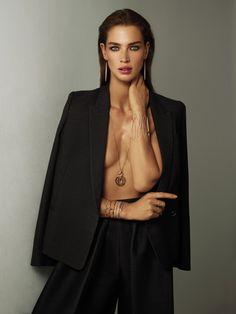 The Thin Gold Line | W Magazine September 2014 | Crista Cober by Cuneyt Akeroglu
