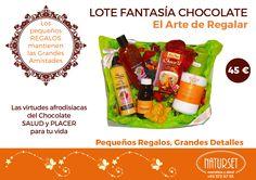 Lote Fantasía Chocolate. Las Virtudes Afrodisíacas del Chocolate. SALUD y PLACER para tu vida.