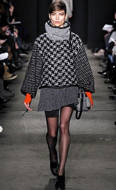 MonoPrince of Wales check Coat I Houndstooth Pattern
