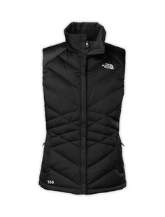 The North Face Women's Jackets & Vests WOMEN'S ACONCAGUA VEST I REALLY WANT A VEST! I like this northface one but I dont care about the brand as long as its warm and plain and mostly black