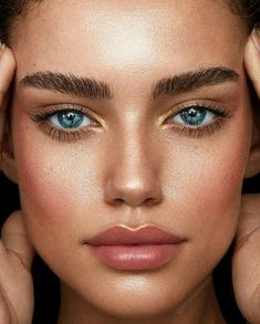 Summer Makeup Tips And Tricks For Perfectly Glowing Skin - Page 2 of 4 - Style O Check Makeup Goals, Makeup Tips, Eye Makeup, Makeup Ideas, Prom Makeup, Makeup Lipstick, Dress Makeup, Insta Makeup, Makeup Products