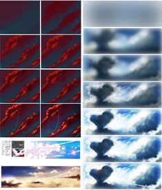 CLOUDS - tutorial by ryky.deviantart.com on @DeviantArt