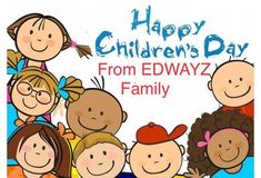 #edwayz #happychildrensday