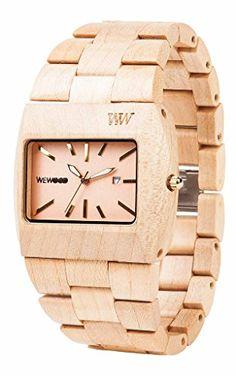 Wooden Watch, Fashion Watches, Bracelet Watch, Gems, Beige, Jewels, Womens Fashion, Accessories, Shoes
