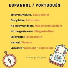 Portuguese Words, Portuguese Lessons, Study Spanish, How To Speak Spanish, Learn Another Language, Spanish Language Learning, Student Life, Better Life, Vocabulary