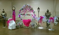 quinceanera carriage chair | Gone Crafting!: CINDERELLA Themed Quinceañera