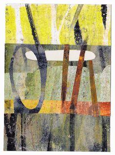 Dudley Redhead: Bowen's Creek and gelli printing