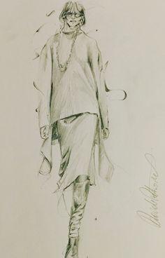 Vetements, illustration by Davide Petraroli