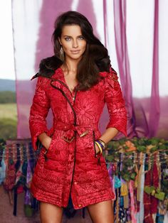 Adriana Lima for Desigual Fall Winter 2014.15 - ...❤ Nuridroes ❤...