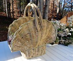 Adorable Cottage Style Vintage Basket by WanderingVineVintage, $26.99