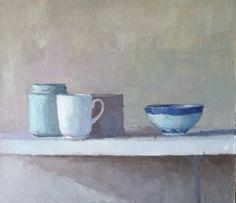 Contemplation#SarahSpackman#painting#oil on linen