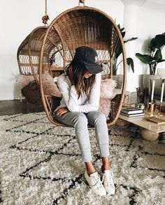 Easing into Monday in our Grey Lux Joggers! ❤ | shopsincerelyjules.com