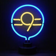 9 Ball Neon Sculpture