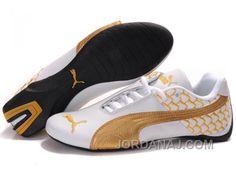 http://www.jordanaj.com/mens-puma-future-cat-in-white-golden-discount.html MEN'S PUMA FUTURE CAT IN WHITE/GOLDEN DISCOUNT Only 70.10€ , Free Shipping!
