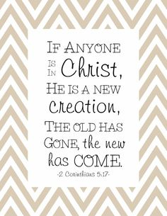 Such truth. The changes in my life have been amazing..and it's all because of Christ.