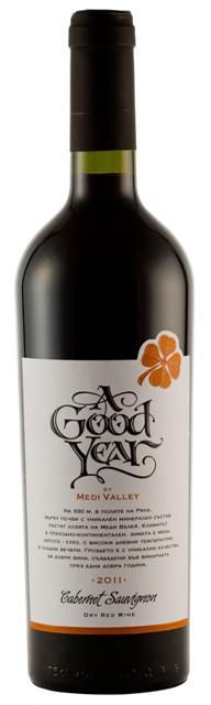 Bulgarian Wine | A Good Year, Cabernet Sauvignon 2011