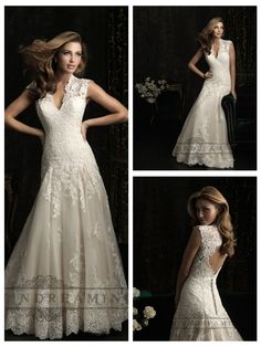 Straps V-neck A-line Wedding Dresses with Keyhole Back  #wedding #dresses #dress #lightindream #lightindreaming #wed #clothing   #gown #weddingdresses #dressesonline #dressonline #bride  http://www.ckdress.com/straps-vneck-aline-wedding-dresses-with-  keyhole-back-p-22.html