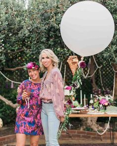 """You'll Want to Pin Every Detail of This Boho-Chic Bachelorette Party   Martha Stewart Weddings - The bachelorette party was tailored to the bride's tastes """"in every way,"""" Veronica said, """"from my favorite color (purple) to my favorite metal (copper), favorite flowers (dahlias, ranunculus, and peonies), favorite bubbly (Prosecco), favorite foods (sweets)."""