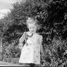 Image of 1953 - Animals and Visitors at Dublin Zoo Dublin Zoo, Girls Dresses, Flower Girl Dresses, Zoo Animals, Photo Archive, Irish, Gallery, Wedding Dresses, Image