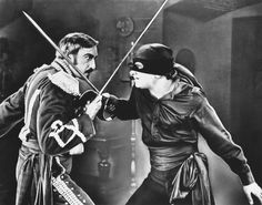 'The Mark of Zorro' with Douglas Fairbanks
