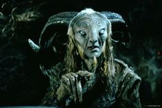 Guiellermo del Toro's faun, Pan, from Pan's Labyrinth. Far from Narnia's Mr. Tumnus...