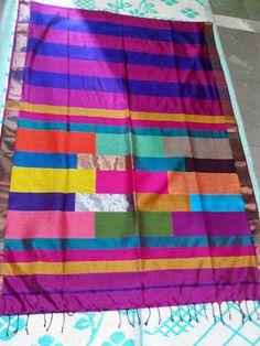 Maheshwari saree Picnic Blanket, Outdoor Blanket, Indian Sarees, Traditional, Indian Saris, Picnic Quilt
