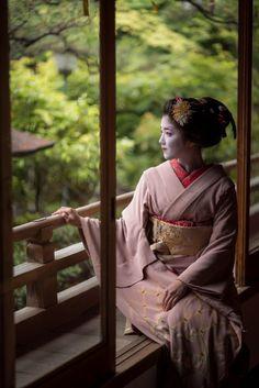 Japanese Geisha, Japanese Beauty, Japanese Art, Okinawa Japan, Kyoto Japan, Geisha Art, Memoirs Of A Geisha, Samurai, Japan Photo