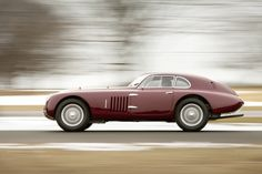 Alfa Romeo 6C 2500 SS Berlinetta Aerodynamica - by Carrozzeria Touring Superleggera of Milan (1938)