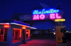 Blue Swallow Motel Route 66, Tucumcari, New Mexico