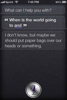 What's the meaning of life, Siri? HumorQuestions to Siri iPhone Siri Says, Siri Funny, Things To Ask Siri, Hitchhikers Guide, Guide To The Galaxy, Internet Radio, Meaning Of Life, Laugh Out Loud, The Funny