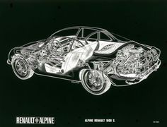 alpine-a110-blueprint
