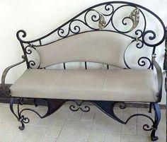sillón en hierro forjado - Buscar con Google