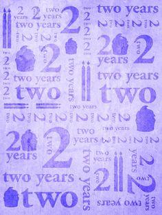 Second Birthday Purple / 9152