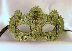 Mask Mardi Gras Carnival, Crochet Mask, Lace Mask, Fancy Schmancy, Venetian Masks, Masquerade Party, Beautiful Mask, Cute Crafts, Honeydew Melon