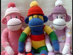 Çoraptan Oyuncak Maymun Yapımı / KENDİN YAP / DIY Stuffed Toys - YouTube
