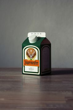 How would products of great brands of alcoholic spirits look like, if they were packed in beverage cartons instead of their prominent bottles? Times are changing, what remains of the brand? © 2011 Jørn http://www.jørn.de